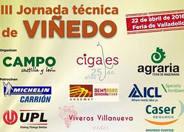 MC BIO – III JORNADA TECNICA DE VIÑEDO Feria de Valladolid – 22 abril