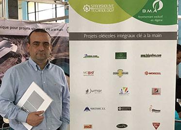 MC BIO – MED MAG OLIVA 2017 – MC Bio presente en la primera feria del olivar en Argel – Argelia –